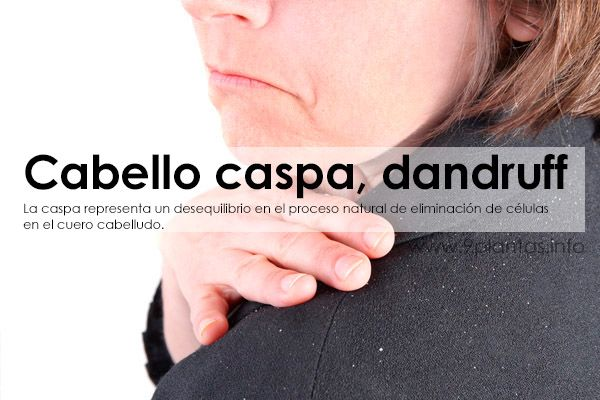 Cabello caspa, dandruff