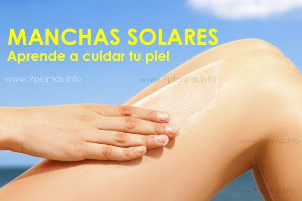 manchas solares en la piel, soluciones y cuidados naturales