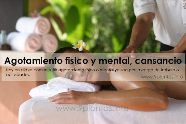 Agotamiento fisico y mental, cansancio, debilidad
