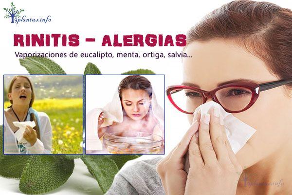 Alergia nasal, rinitis alérgica recomendaciones naturales efectivas