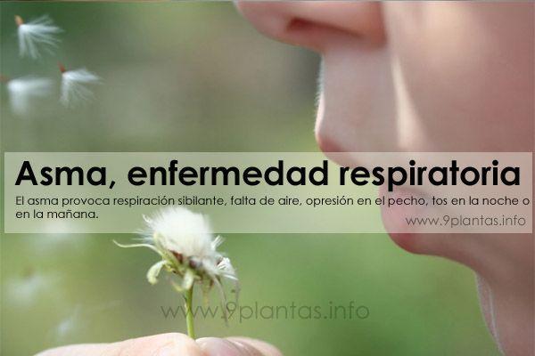 Asma, enfermedad respiratoria