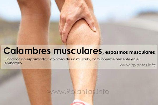 Espasmos musculares remedios caseros para evitar los calambres