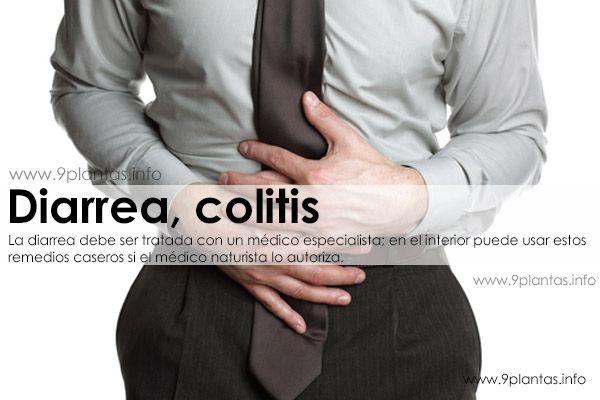 Diarrea, colitis