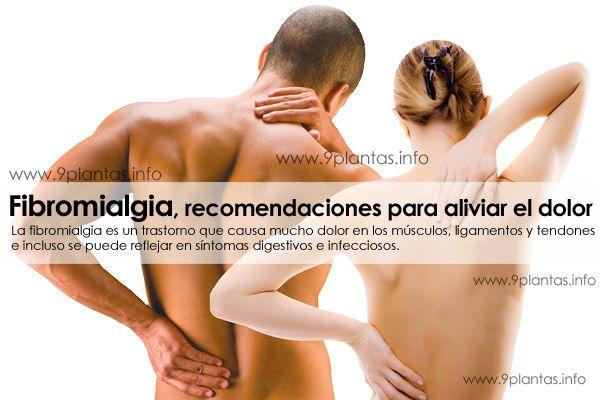 Fibromialgia, recomendaciones para aliviar el dolor