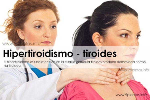 Hipertiroidismo, tiroides