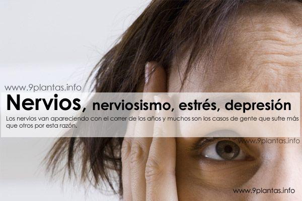 Nerviosismo, nervios, estrés, depresión
