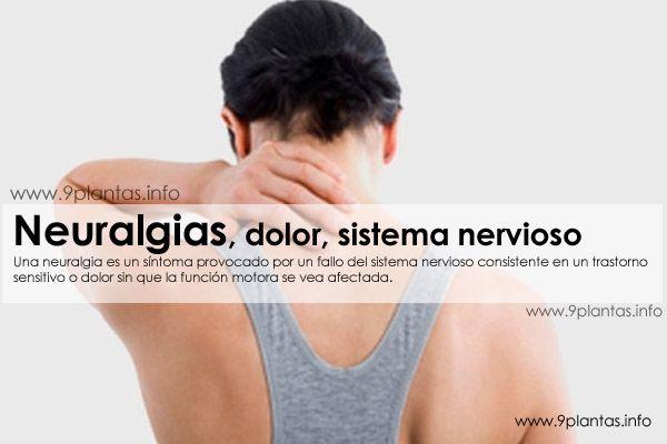 Neuralgias, dolor, sistema nervioso