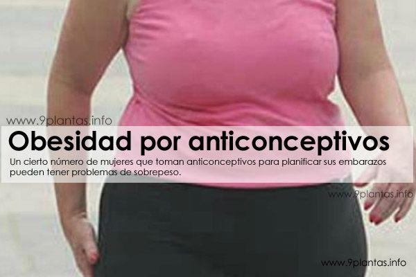 Obesidad por anticonceptivos