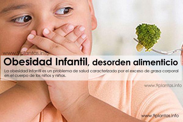 Obesidad Infantil, desorden alimenticio