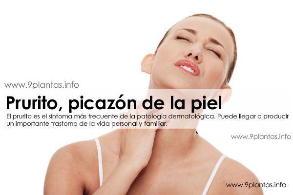 Prurito, como eliminar el picazon de la piel