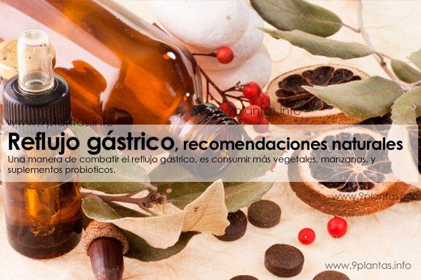 Reflujo gastrico, acidez, dietas, recomendaciones