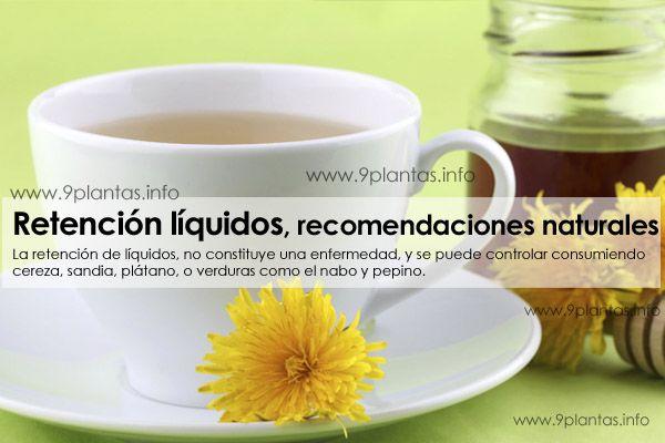 Retención líquidos, edema, hidropesia, recomendaciones