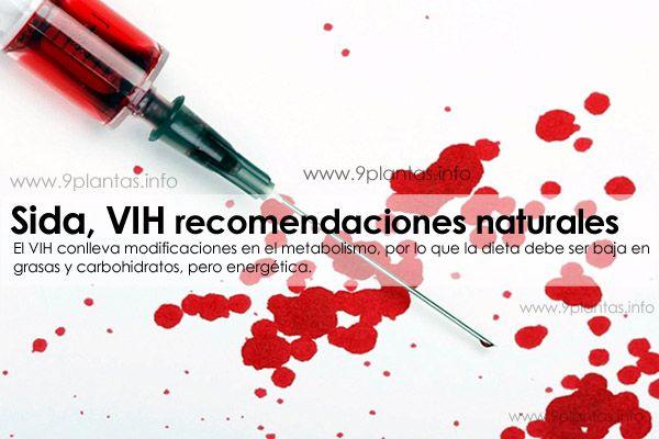 Sida, VIH recomendaciones naturales