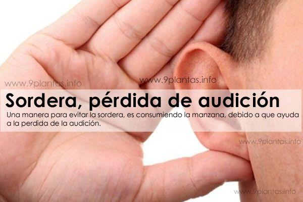 Sordera, pérdida de audición