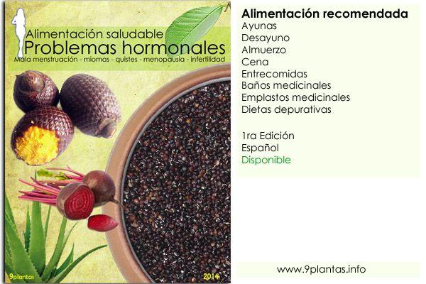 E-book | Problemas hormonales, alimentación saludable