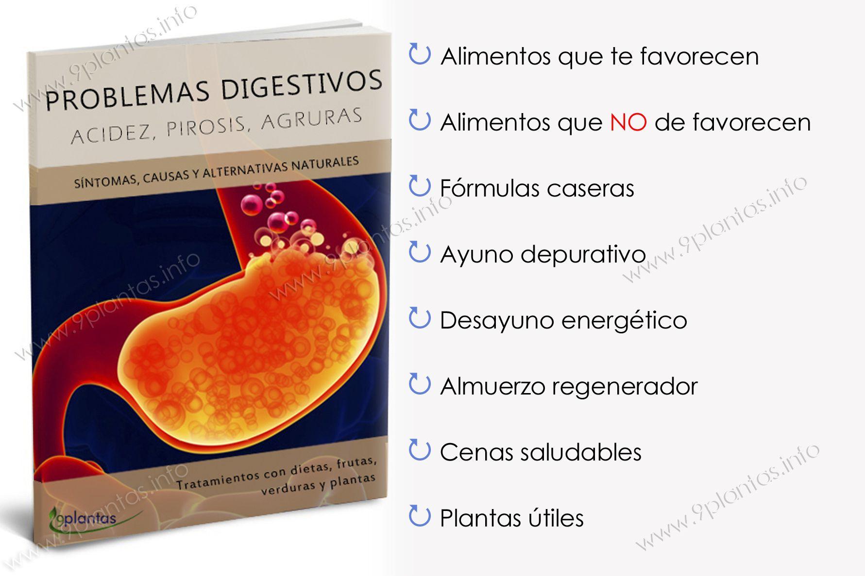 E-book | Acidez, pirosis, agruras, acidez del estomago