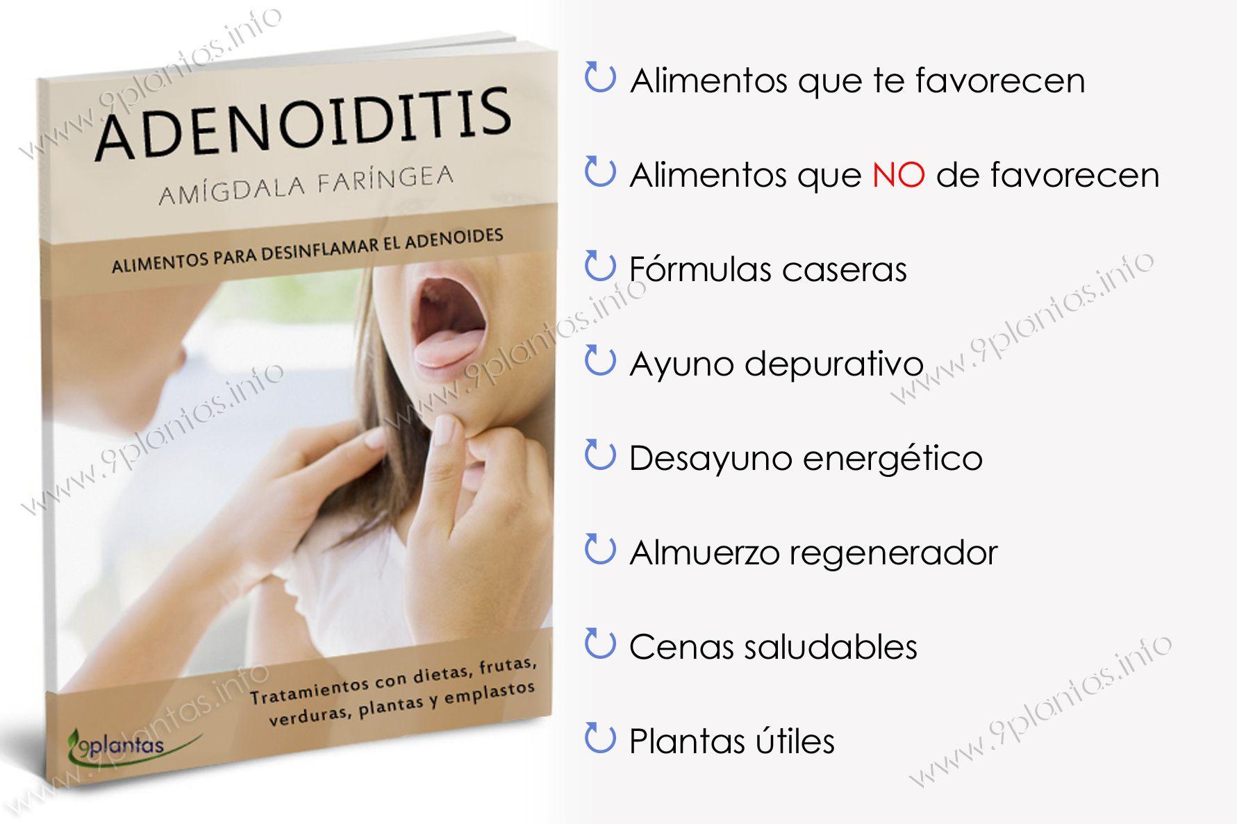 E-book | Adenoiditis, amígdala faríngea