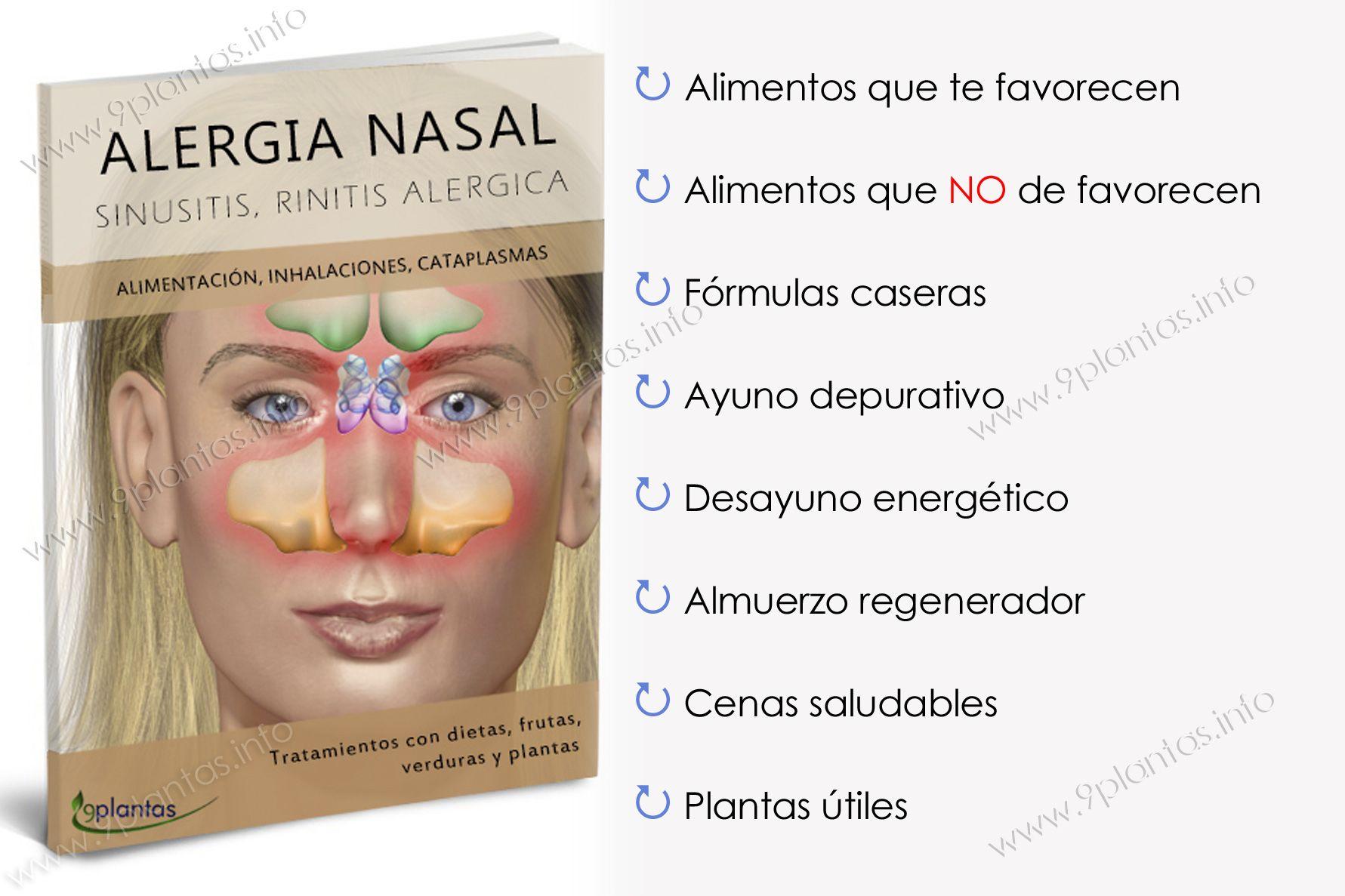 E-book | Alergia nasal, rinitis alérgica
