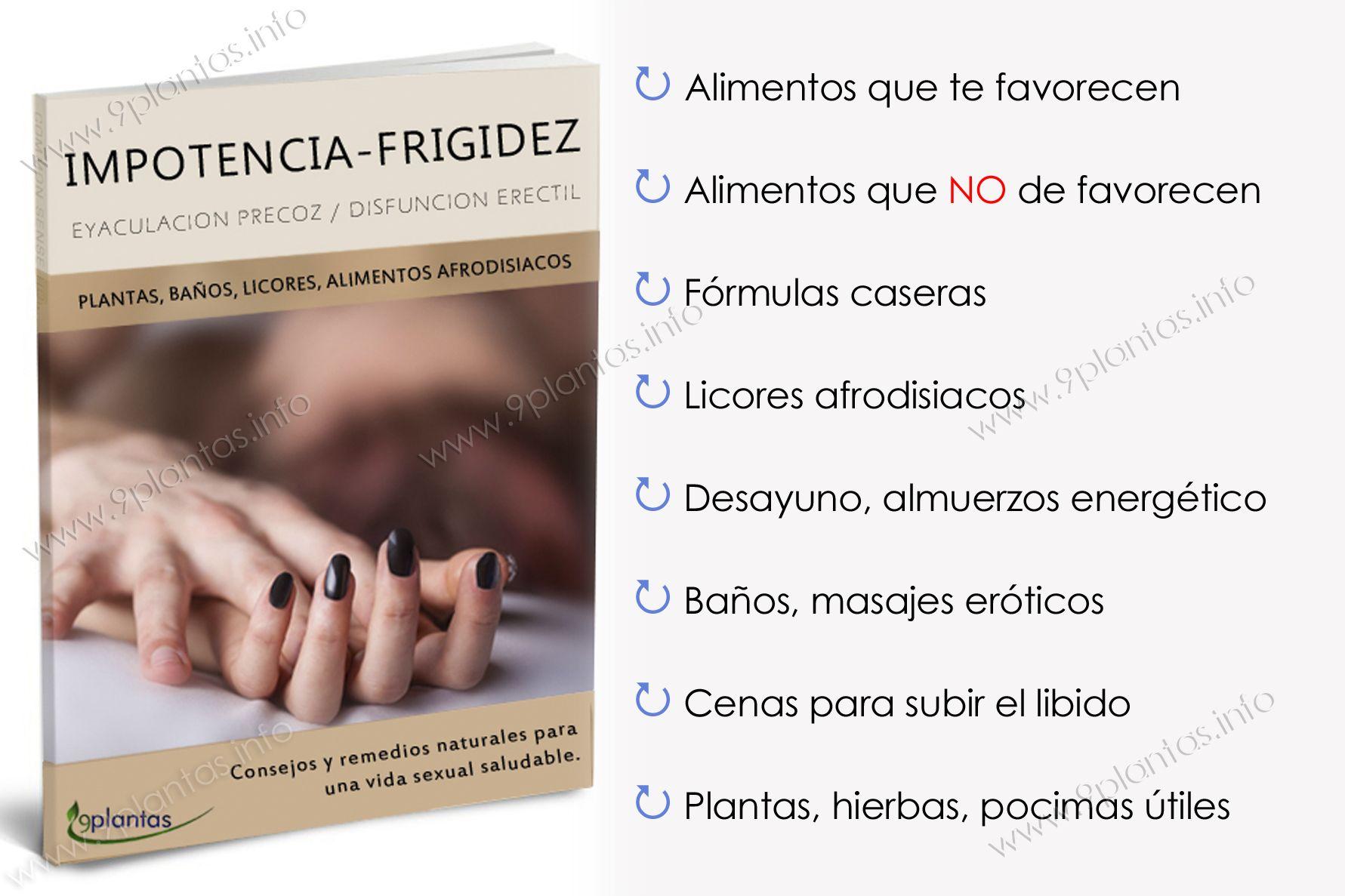E-book | impotencia, frigidez, eyaculación precoz, disfunción eréctil