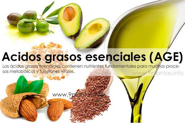 Acidos grasos esenciales (AGE)