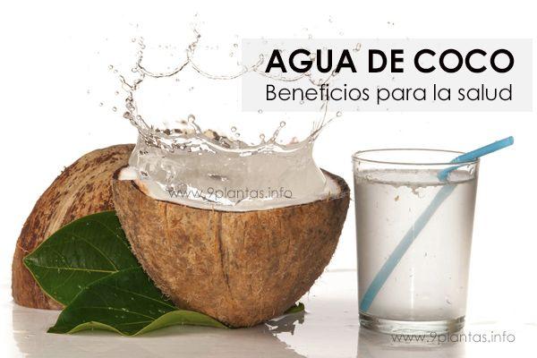 Agua de coco beneficios para la salud