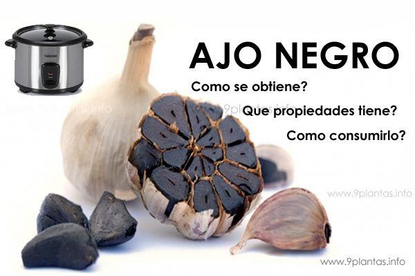 Ajos negros, de mejor propiedades que el ajo blanco
