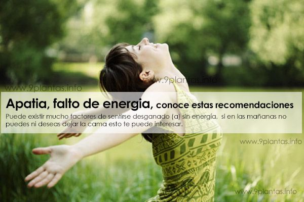 Apatia, falto de energia, conoce estos 9 ladrones de tu energia