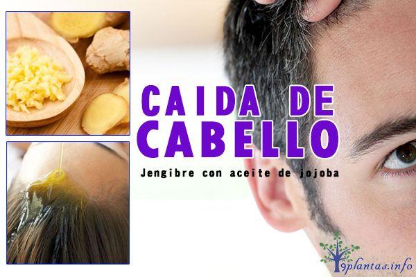 Jengibre: usado para la caída de cabello y caspa