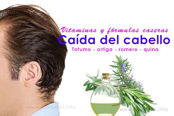 Cabello saludable vitaminas y fórmulas caseras, evita la caída de cabello