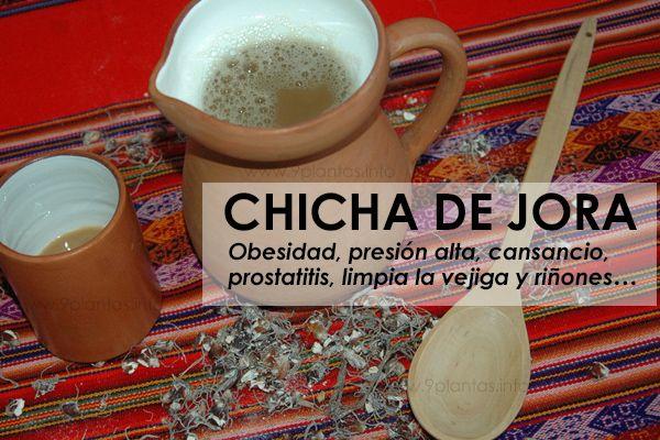 Chicha de jora, propiedades medicinales