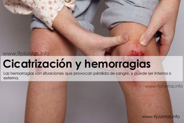 Cicatrización y hemorragias