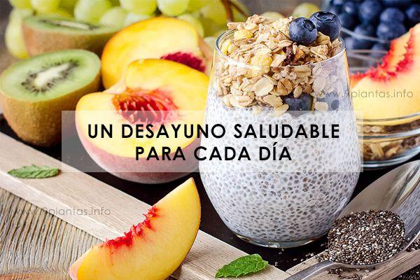Un desayuno saludable para cada día
