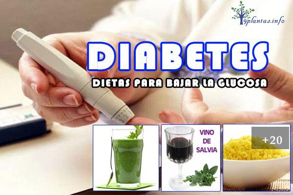 Diabetes contrólalo solo con dietas para bajar la glucosa