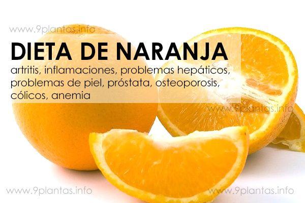 Dieta de naranja, para una buena salud
