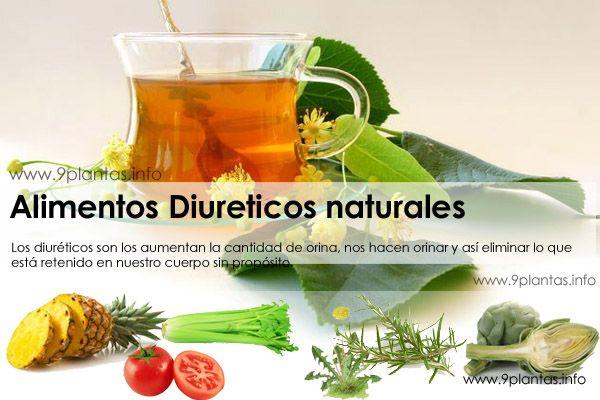 Diureticos naturales