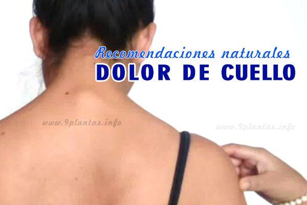 Dolor tensión en el cuello, cervicales tensionados