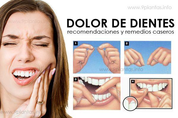 Dolor de dientes recomendaciones y remedios caseros
