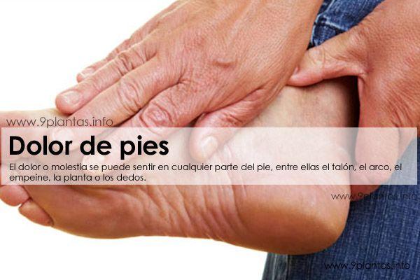 Dolor de pies, recomendaciones naturales