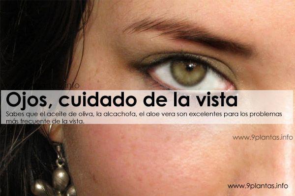 Ojos, cuidado de la vista