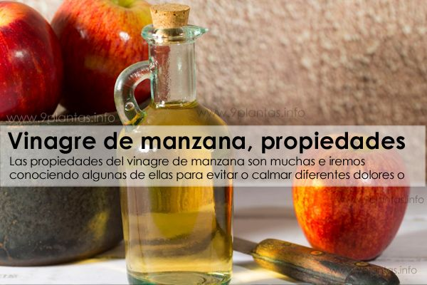 Vinagre de manzana uso y propiedades