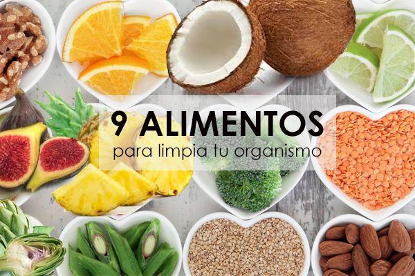 9 alimentos para limpiar el organismo