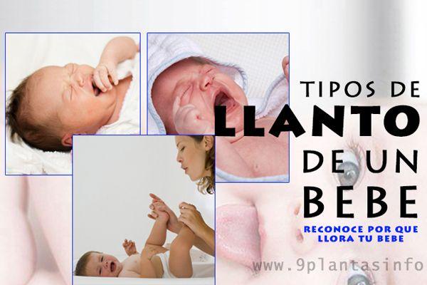 llanto o lloros de bebes, como reconocer por que llora un bebe